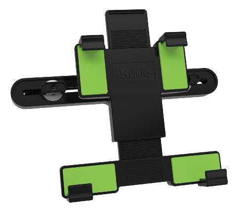 Kurio C13500 autohouder (tablet/UMPC, auto, zwart, groen, actieve houder voor mobiele telefoon, horizontaal/verticaal, 17,8 cm (7 inch)