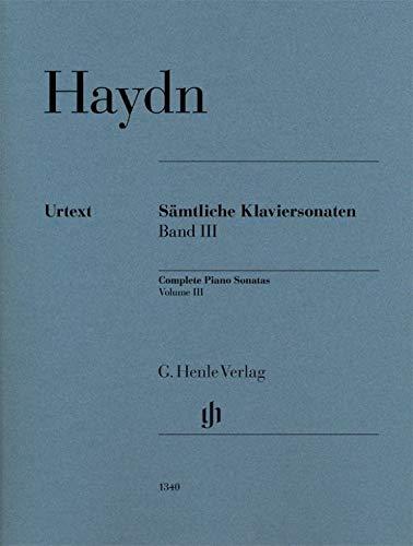 Haydn, Joseph - Complete Piano Sonatas Volume III (English, French and German Edition)