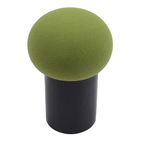FGJFJ Pinceau Éponge Correcteur Tête de Champignon Fond de Teint Crème Liquide Pinceaux Cosmétiques,vert