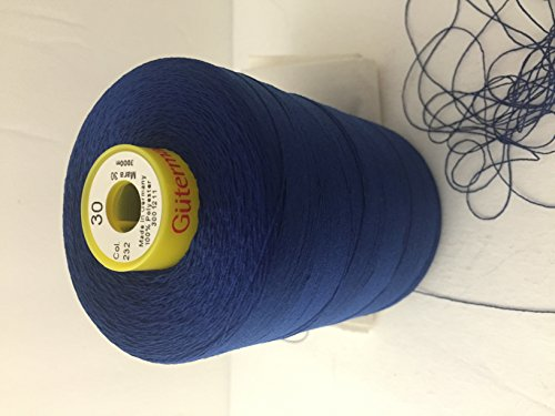 Find Discount Gutermann Strong Sewing Thread in Mara 30,-3280 Yards Polyester,Color Royal Blue,Top S...