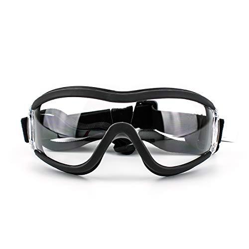 Namsan Gafas de sol transparentes para mascotas, resistentes al viento, protección ocular para perros grandes/medianos
