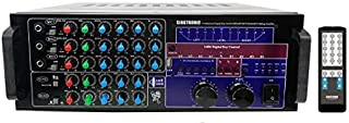SINGTRONIC KA-2000DSP Professional DJ/KJ 2500W Digital Mixing Amplifier with HDMI, Bluetooth Function Send and Receive from Any Smart Devices, USB Recording, Built in 3 Optical Input