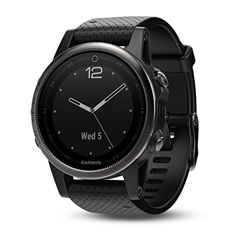 Garmin fenix 5s, Premium and Rugged Smaller-Sized Multisport GPS Smartwatch, Sapphire...