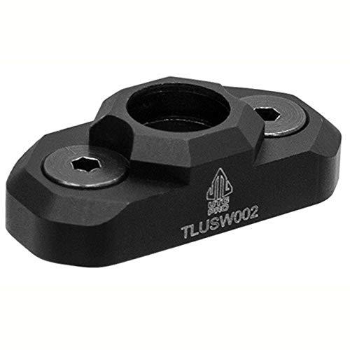 UTG Pro Leapers TLUSW002 Inc, Keymod QD Sling Swivel Adaptor, Matte Black