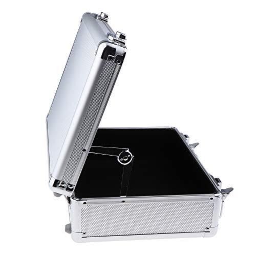 SDENSHI Caja de Herramientas de Salón 1PC Caja de Herramientas de Caja de Almacenamiento Pequeña de Aleación de Aluminio Organizador