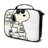 Snoopy Kosmetiktasche, Make-up-Tasche, bedruckt, Beauty-Reisetasche, Kosmetik-Organizer, Make-up,...