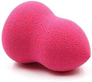 Panrot 1PC Makeup Sponge Cosmetic Puff Maquiagem Powder Foundation Puff Smooth Shaped Sponge Tools Beauty Essentials Cream Sponge (Red Rose Hourglass)