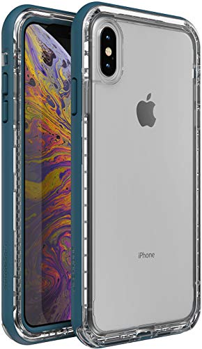 LifeProof Next Series Case for Apple iPhone XS Max - Clear Lake Blue