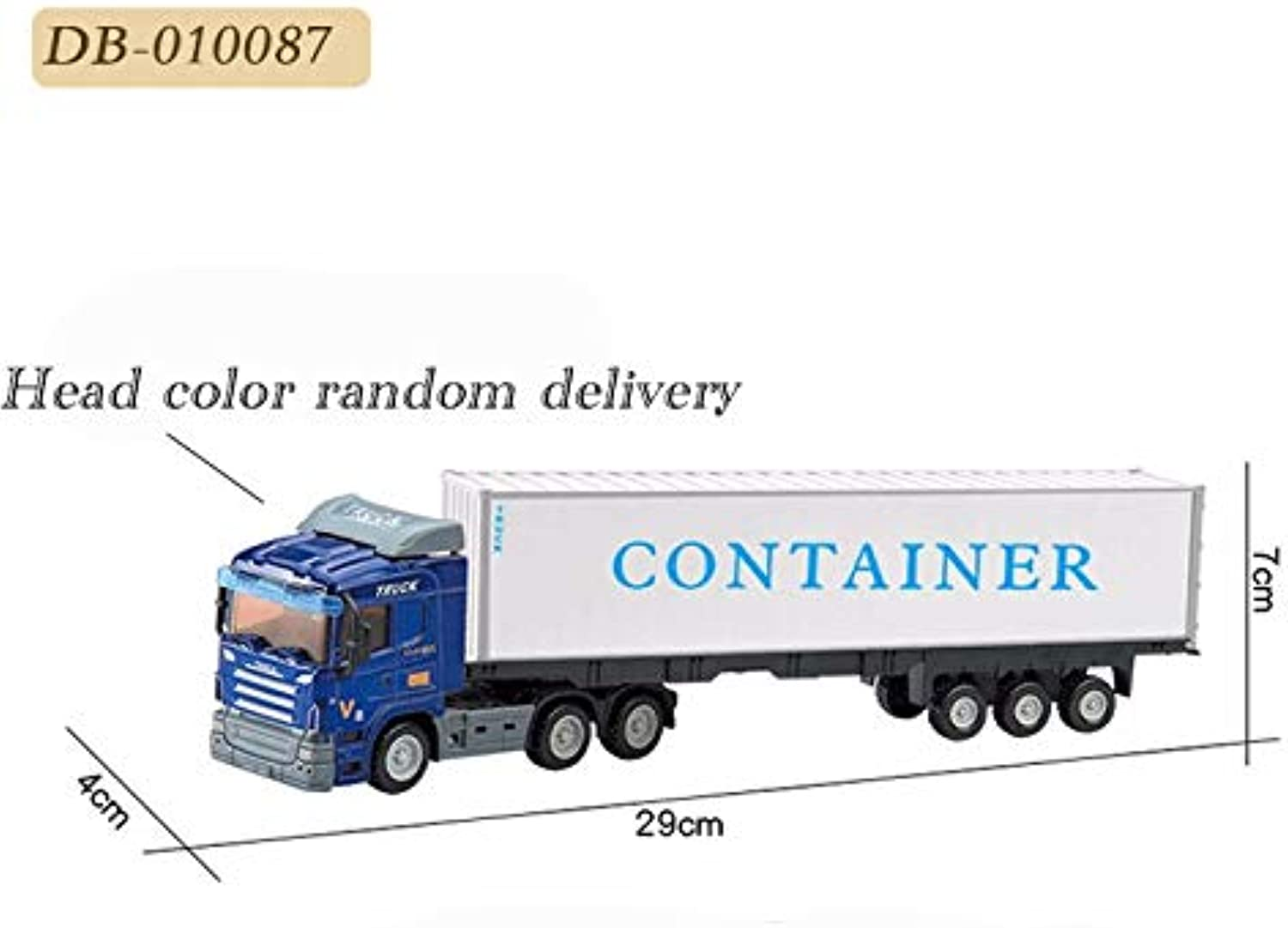 Generic 1 55 Truck Classical Model Cars Metal Alloy Diecast Trucks Pull Back Construction Vehicle Simulation Car Toy Toys for Boys DB010087