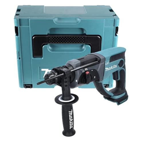 Makita DHR 202 ZJ lichtfabrik-martello combinato SDS-plus 18 V, senza batteria, senza caricatore