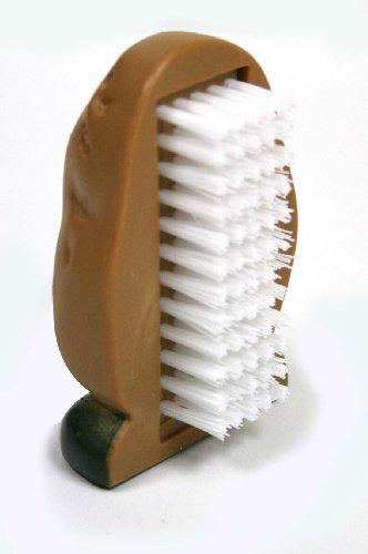 MSC International Joie Spud Dude Potato Vegetable Scrub Cleaner Brush, 3 x 2-Inches, Multi Color