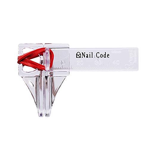 Pinchklemme für Nageldesign für Gelnägel Pinch klemme Gel Acryl Hilfswerkzeug nail code nailcode Nail:Code Pinchklemme (P51001 - Transparent)