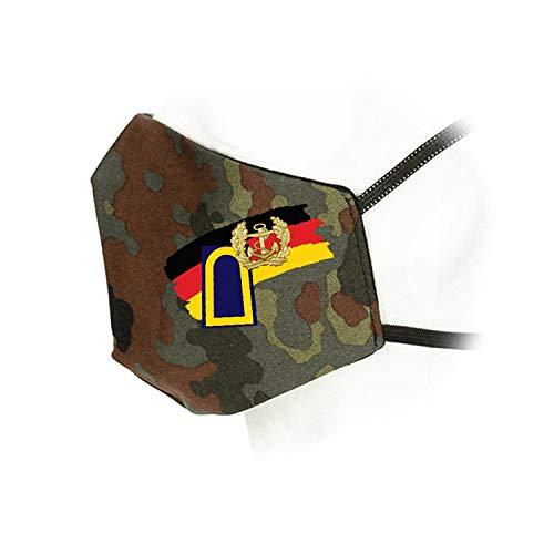 Copytec Flecktarn Maske Marine Eckernförde Rangabzeichen Bundeswehr Dienstgrad #35951