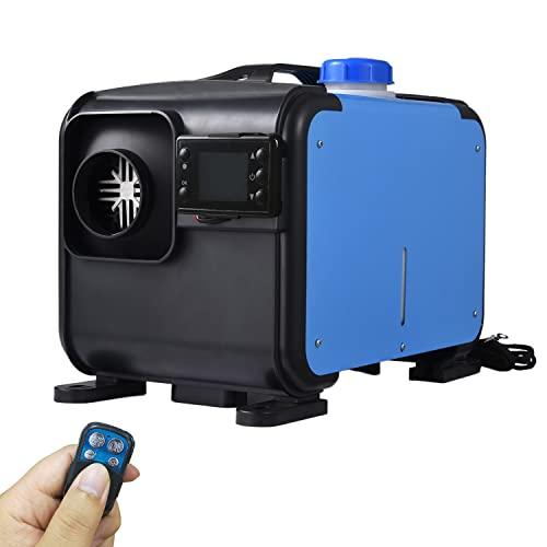 YANGMAN-L Calentador De Aire Diésel, Calentador De Estacionamiento Diésel De 5 L con Monitor De Termostato LCD Y Control Remoto Calentador De Aire De 8 KW para Camión, Barco, Autobús, Vehículo,24V