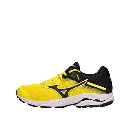 Mizuno Wave Inspire 15, Chaussures de Running pour Homme, Jaune (BlazingYellow/BlueGraphite 53), 40 EU