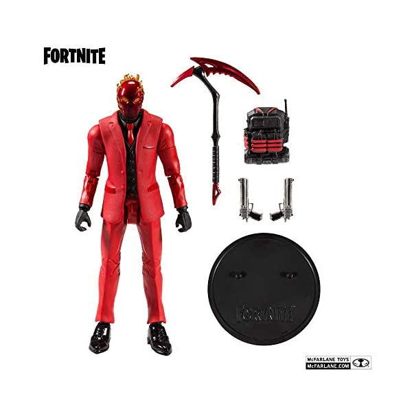 McFarlane Fortnite Figura Inferno, multicolor (10723) 2
