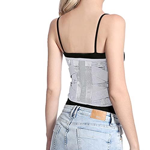 DOACT Lendenwirbelsäule Stützgürtel Lendengurt für Damen und Herren, Rückenbandage Lendenwirbelstütze Rücken Gürtel für Ischias Bandscheibenvorfall S