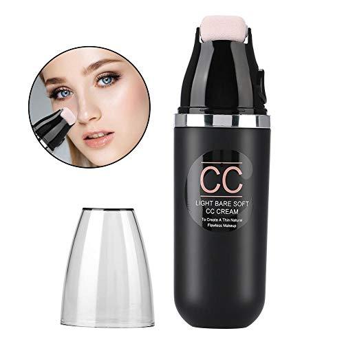 CC Creme Concealer, 50g Roller Rad Luftpolster Creme Make-up Feuchtigkeitsspendende lang anhaltende Erhellen Concealer Schönheit Kosmetik