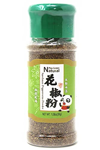 Premium Sichuan Red Peppercorns Powder 1.05 oz, A Mouth-numbing Spice, Ground Red Szechuan Peppers in Dispenser with Pour Holes for Kung Pao Chicken, Mapo Tofu, and Chinese Cuisine
