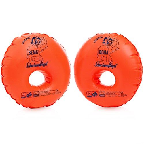 Bema 18007 Schwimmflügel Nein Schaumstoffkern, Orange, One Size