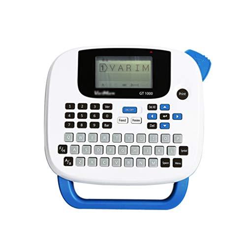 FENXIXI Máquina de Transferencia térmica de la Impresora portátil de la Etiqueta portátil 203dpi 6-14mm Mini máquina de Etiqueta con Teclado (Color : B)