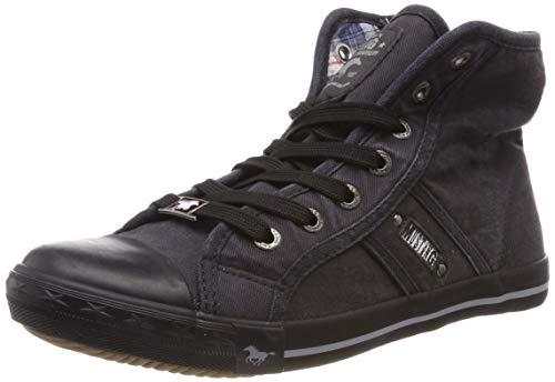 MUSTANG Damen 1099-502 Hohe Sneaker, Grau (Graphit 259), 38 EU