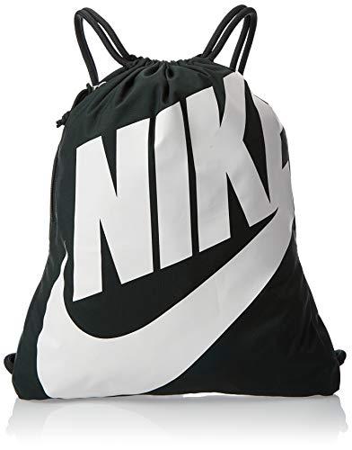 Nike Unisex-Erwachsene Nk Heritage Gmsk Turnbeutel, Mehrfarbig (Outd Green/Pale Ivory), 17x15x25 centimeters (W x H x L)