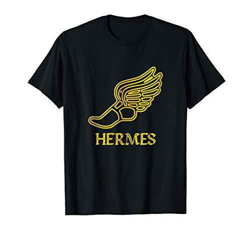 Hermes Shoe Caduceus Son Zeus God Greek Mythology Cute Gifts T-Shirt