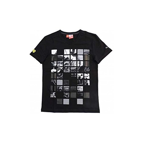 Ferrari T-Shirt Homme Graphic Noir Taille XXL