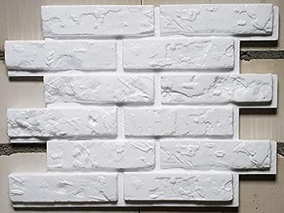 Nueva Exclusiva 3D Paneles De Pared - Tableros De Pared 3D - Revestimiento de Pared 3D - Old Brick ( Paquete 24 piezas / 5,52 m² )