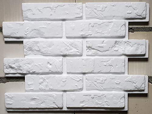 Nueva Exclusiva 3D Paneles De Pared - Tableros De Pared 3D - Revestimiento de Pared 3D - Old Brick ( Paquete 24 piezas / 5,52 m² )