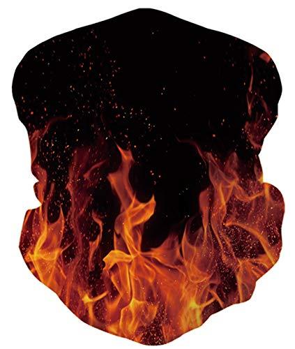 Idgreatim Halstuch Kopftuch Multifunktionstuch Galaxy Sky Bandana für Rave Gesicht Staub Wind UV Sonnenhals Gamasche Rohr Kopfbedeckung Motorrad Gesicht für Damen Männer Gesicht Schal