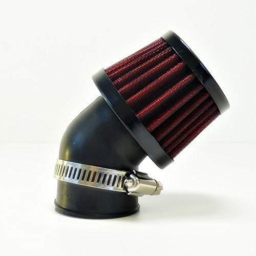 35 mm 45° Tuning Sport Luftfilter - Air Filter für Motorrad Roller Quad Moped Mofa