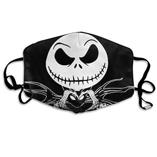 Skull Jack&Sally Zero Face Madk Washable Christmas Cloth Mouth Face C