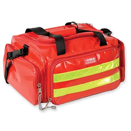 Gima tas Smart voor reddingsvest, polyester, PVC-gecoat, rood, 35x45x21 cm, Rood, 1