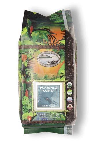 Camano Island Coffee Roasters - Organic Papua New Guinea Light Roast Coffee - Fresh Premium USDA Certified Organic, Shade Grown, Fair Trade, and Ethical