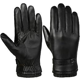 Unisex para Hombres Caballeros caliente de invierno Guantes de punto Thinsulate Forrado Térmico Aislado