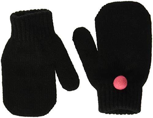 United Colors of Benetton Gloves Guantes, Negro (Black 100), 2 para Niñas