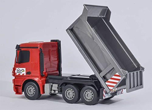 RC Auto kaufen Baufahrzeug Bild 4: Carson Modellsport Muldenkipper 1:26 RC Einsteiger Funktionsmodell Baufahrzeug inkl. Akku, Ladegerä*