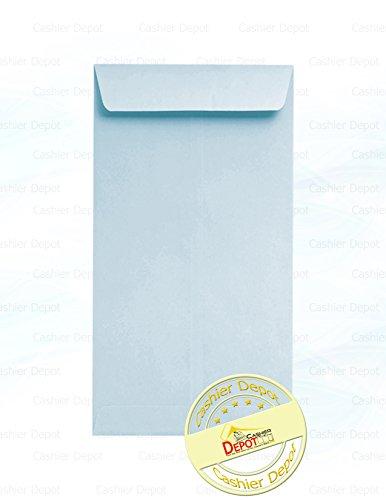 250 Cashier Depot Coin / Cash / Small Parts #7 Envelopes, 3-1/2″ X 6-1/2″, 24lb, 250/Box (Blue)