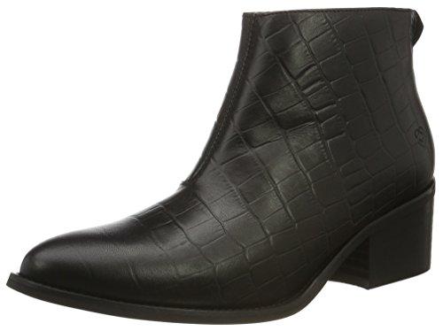 Liebeskind Berlin Damen LF175090 alliga Kurzschaft Stiefel, Schwarz (Nairobi Black), 39 EU