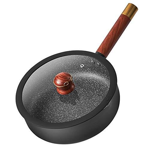 Asas De Silicona, Apta para Todo Tipo De Cocinas Incluida Inducción - Juego De Cacerolas Antiadherentes DiámetroInducciónSartén Sartén Antiadherente