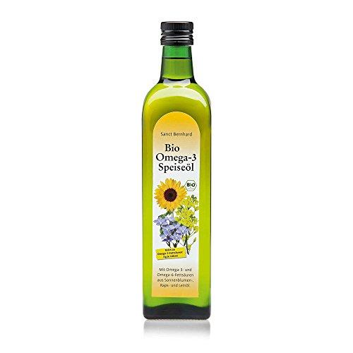 Sanct Bernhard Bio Omega-3-Speiseöl 750 ml