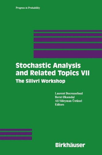 Stochastic Analysis and Related Topics VII: Proceedings of the Seventh Silivri Workshop (Progress in Probability)