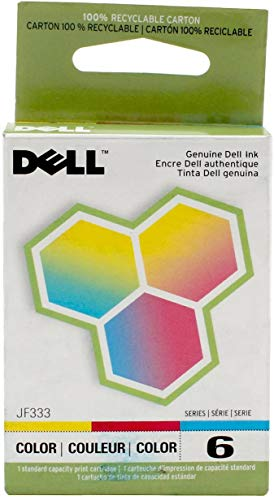 Dell Series 6 Color Ink Cartridge (JF333) by Dell