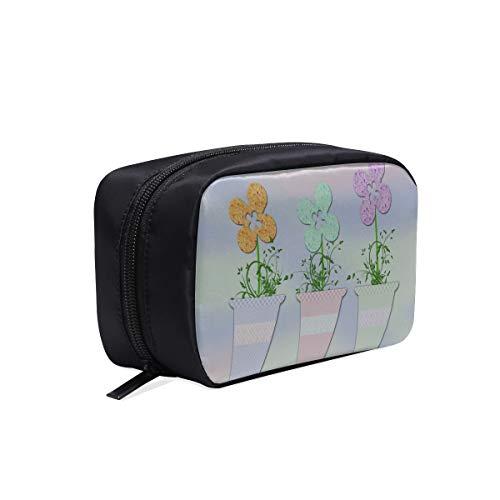 Bolsas de viaje para niños Flores de flores Maceta vintage Bolsa de...
