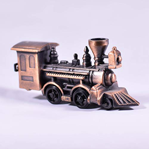 Metal Die Cast Train Miniature Pencil Sharpener - Collectible Replica Vehicle Transportation Figurine