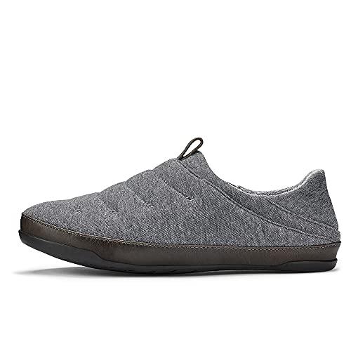 [オルカイ] スリッポン メンズ スニーカー かかと 踏める 靴 サンダル ブランド MAHANA 短靴 カジュアル シューズ US7.0(25.0cm) DARKSHADOW×BLK