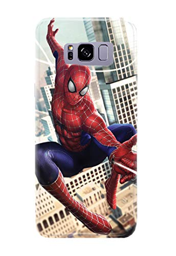 Case Me Up Coque téléphone pour Samsung Galaxy S8 Spider Man Peter Parker Marvel Comics Superhero 16 Dessins