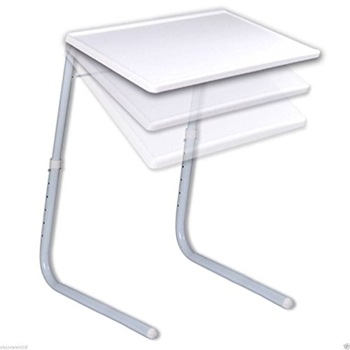 Mate de mesa portátil ajustable plegable TV cena portátil viaje cama bandeja escritorio